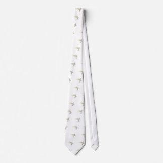 Holy Spirit white beautiful dove Tie