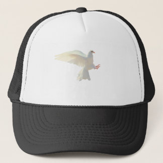 Holy Spirit white beautiful dove Trucker Hat