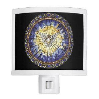 Holy Spirit Window Nite Light
