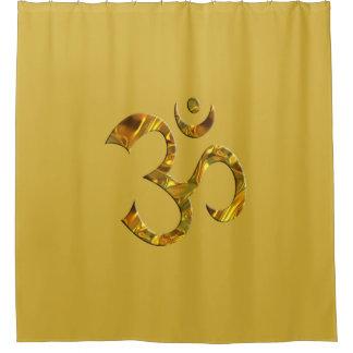 Holy Symbol OM / Aum gold & Mantra