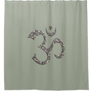 Holy Symbol OM / Aum silver & Mantra