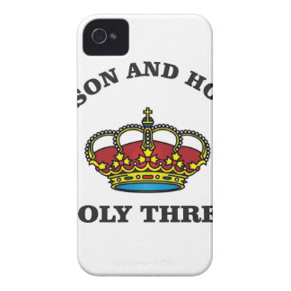 holy three fshg iPhone 4 Case-Mate cases