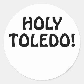 Holy Toledo Classic Round Sticker