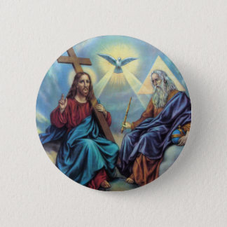 Holy Trinity 2 Inch Round Button
