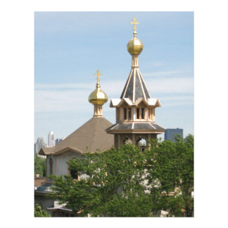 Holy Trinity CAthedral Domes (full color) Custom Letterhead
