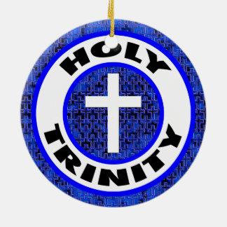 Holy Trinity Ceramic Ornament