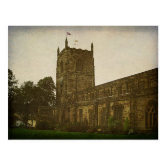 Holy Trinity Church, Skipton Yorkshire Postcard