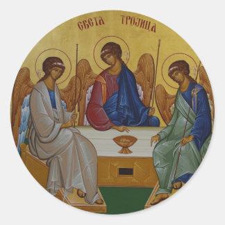 Holy Trinity Classic Round Sticker