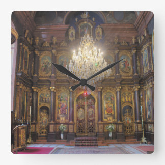 Holy Trinity Greek Orthodox Church Square Wall Clock