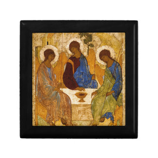 Holy Trinity Icon Rublev Byzantine Catholic Gift Gift Box