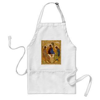 Holy Trinity Icon Rublev Byzantine Catholic Gift Standard Apron