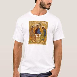 Holy Trinity Icon Rublev Byzantine Catholic Gift T-Shirt