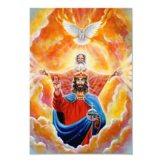 Holy Trinity in Glory Card