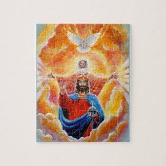 Holy Trinity in Glory Jigsaw Puzzle