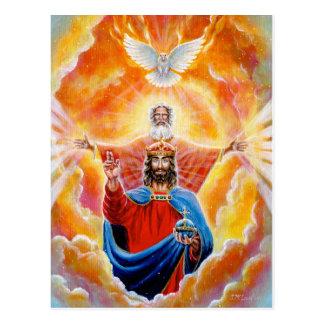Holy Trinity in Glory Postcard