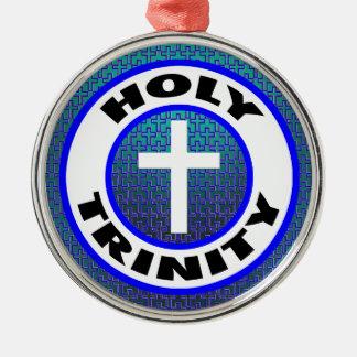 Holy Trinity Metal Ornament