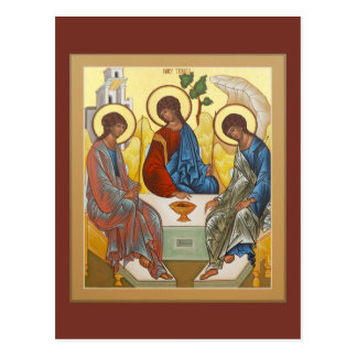 Holy Trinity Prayer Card Postcard