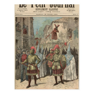 Holy Week in Seville Postcard