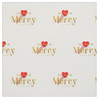 Holy Year of Mercy Fabric