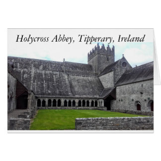 Holycross Abbey, Tipperary, Ireland Photocard Card