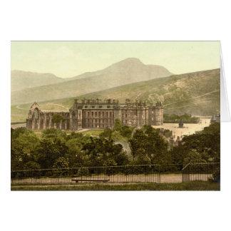 Holyrood Palace, Edinburgh, Scotland Card