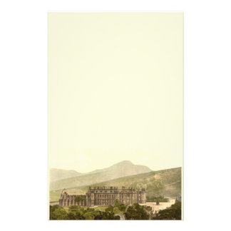 Holyrood Palace, Edinburgh, Scotland Customized Stationery