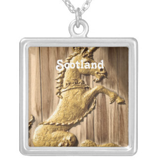 Holyrood Palace Silver Plated Necklace