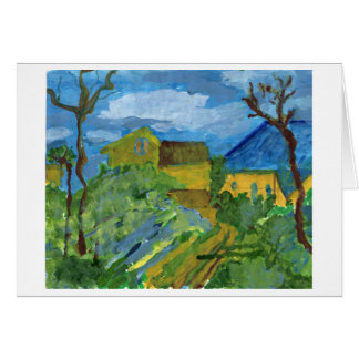 Homage to Cezanne note card