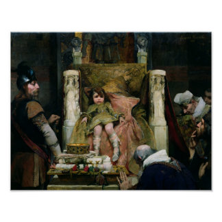 Homage to Clovis II Poster