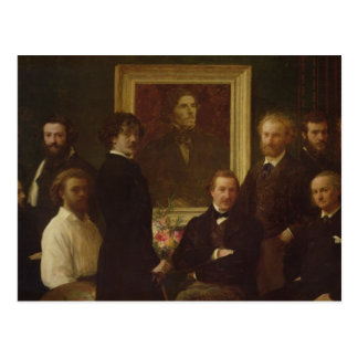 Homage to Delacroix, 1864 Postcard