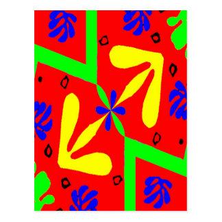 Homage To Matisse Designs Postcard