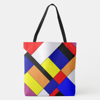 Homage to Mondrian Tote Bag