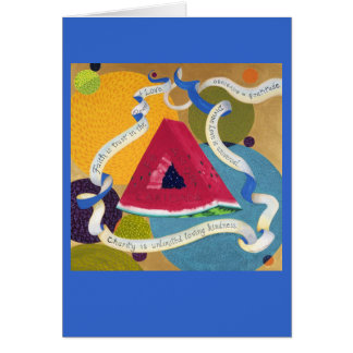 Homage to the Prayer Triangle CARD