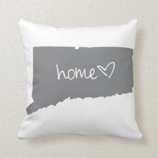 Home <3 Connecticut Throw Pillow