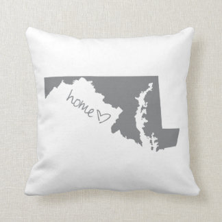 Home <3 Maryland Throw Pillow