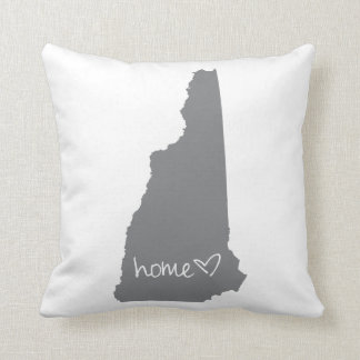 Home <3 New Hampshire Throw Pillow