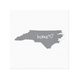 Home <3 North Carolina Canvas Print