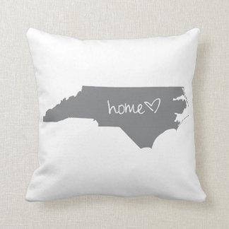 Home <3 North Carolina Throw Pillow
