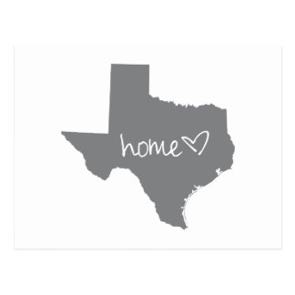 Home <3 Texas Postcard