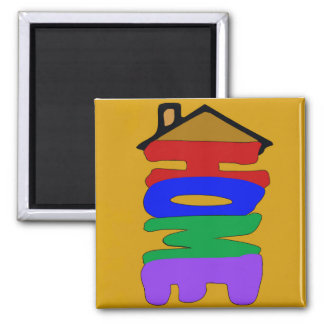 Home Abstract Fridge Magnet
