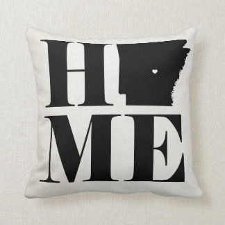 Home Arkansas State Pillow CHOOSE YOUR COLOR