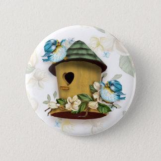HOME BIRD SONGS Button  Small, 2¼ Inch