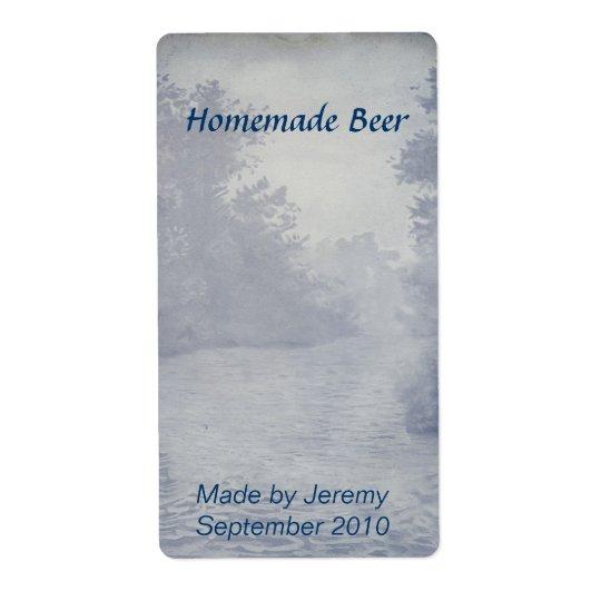 Home Brewed Beer Label