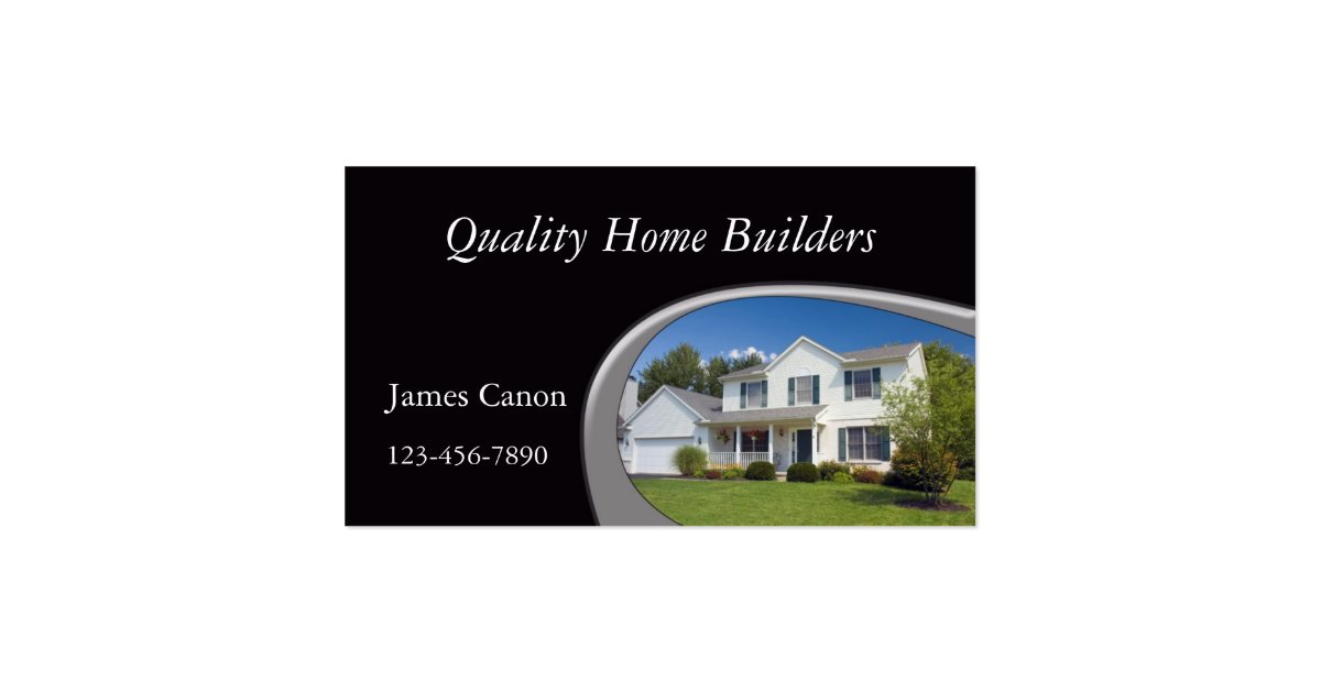 Home Builder Business Card : Zazzle