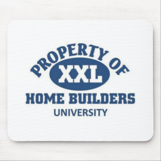 Home builders university mouse pad