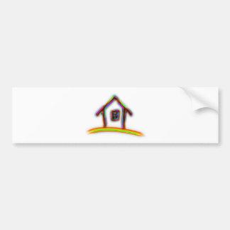 Home Bumper Sticker