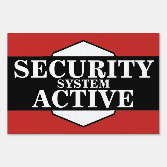 Home Business Security System Active Zazzle