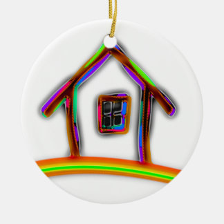 Home Ceramic Ornament