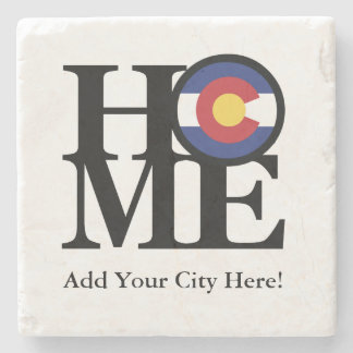 HOME Colorado Stone Coaster