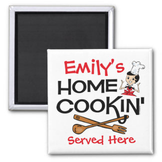 Home Cookin' Custom Magnet